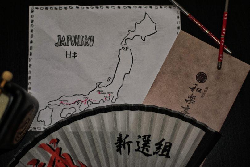 Před cestou do Japonska